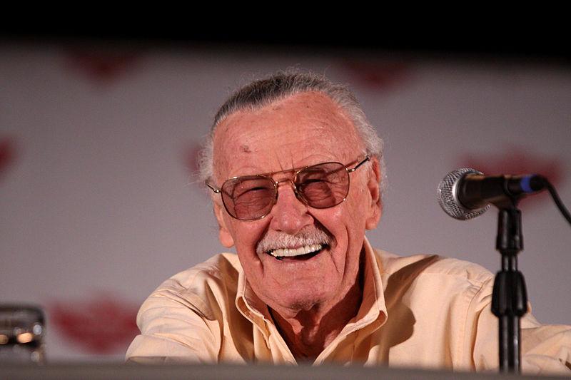 Stan Lee at the Phoenix Comicon in Phoenix, Arizona