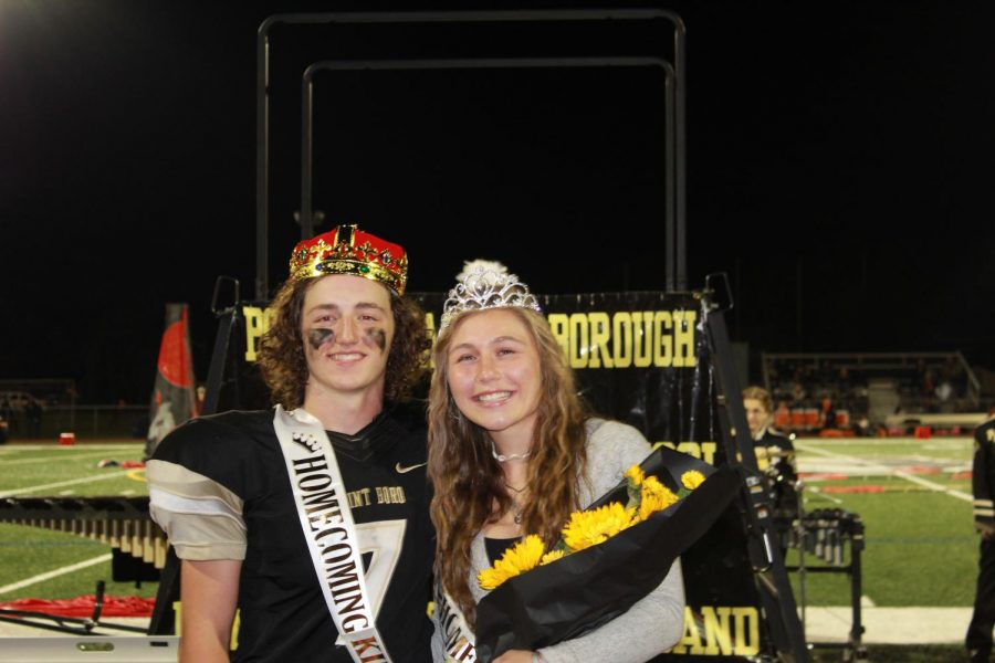 Homecoming King and Queen, Christian Aurin and Morgan Woods