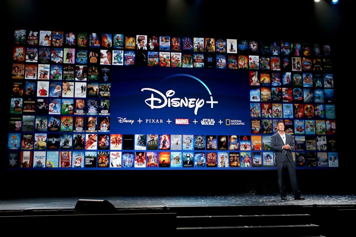 Picture taken during recent discussion about Disney+