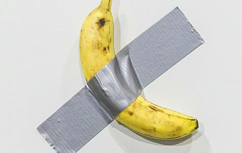 The banana shortly before being eaten.  Photo courtesy of Google Images.