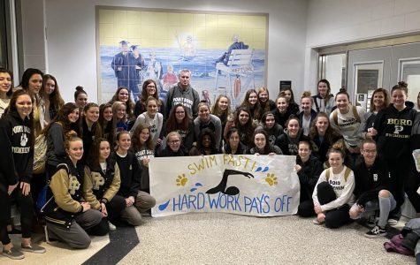 Girls Swimming Moves on to States