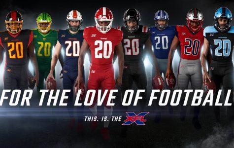 The 8 XFL teams