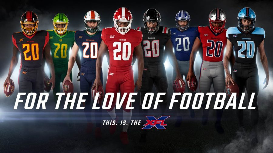 The+8+XFL+teams