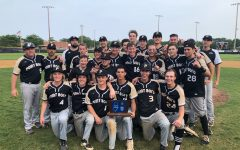 Point Boro Baseball team after winning the Group II sectional championship in 2019.