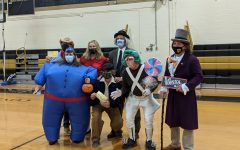 P.E. teachers take 1st Place yet again with another outstanding group costume!