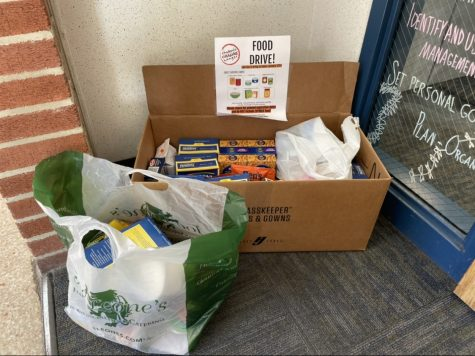Donate to the Canned Food Drive at the guidance office!